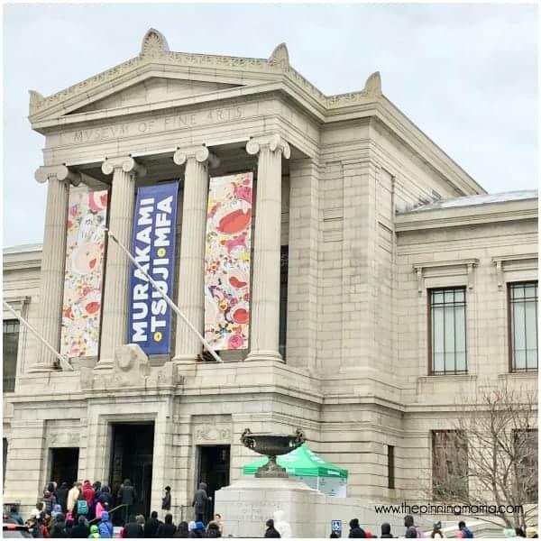 The Museum of Fine Arts in Boston, MA