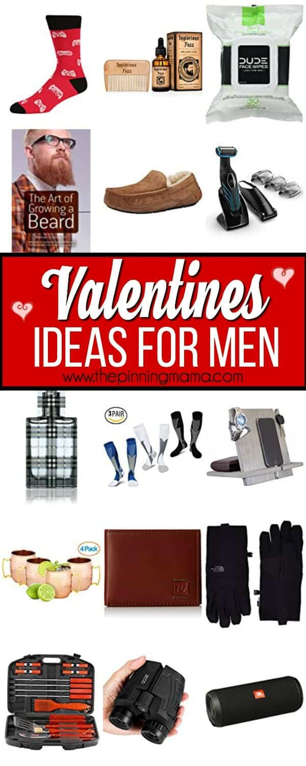 Valentine's Day ideas for the man in your life.