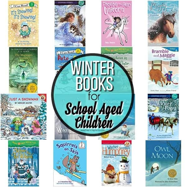 The Ultimate list of books for School Aged Children, Winter Themed