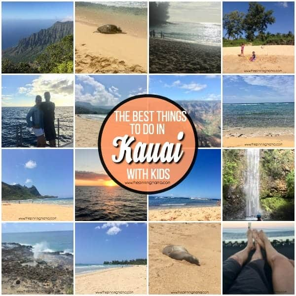 The BEST list of things to do in Kauai with Kids.