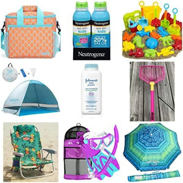 Beach Essentials for your trip to the beach with your family.