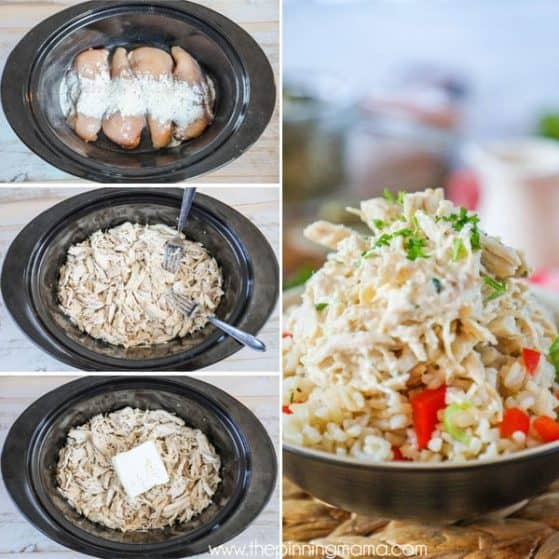 Slow Cooker Ranch Chicken Recipe