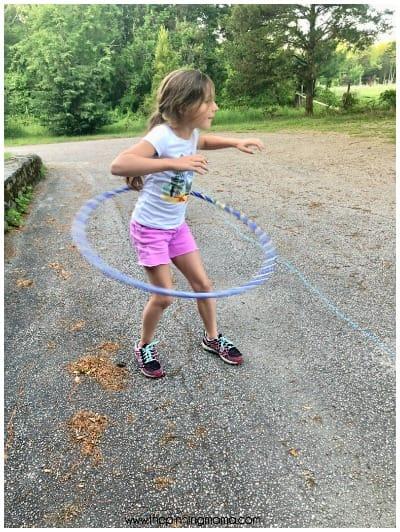 Hula Hoop contest.