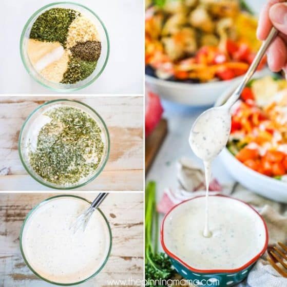 Crazy Delicious Homemade Ranch Dressing Recipe