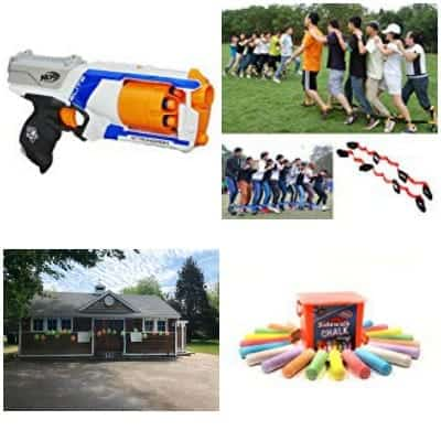 Outdoor back to school games for Kids.