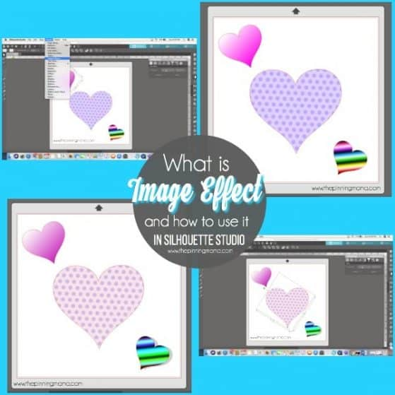 What is image Effect and how to use it in Silhouette Studio.