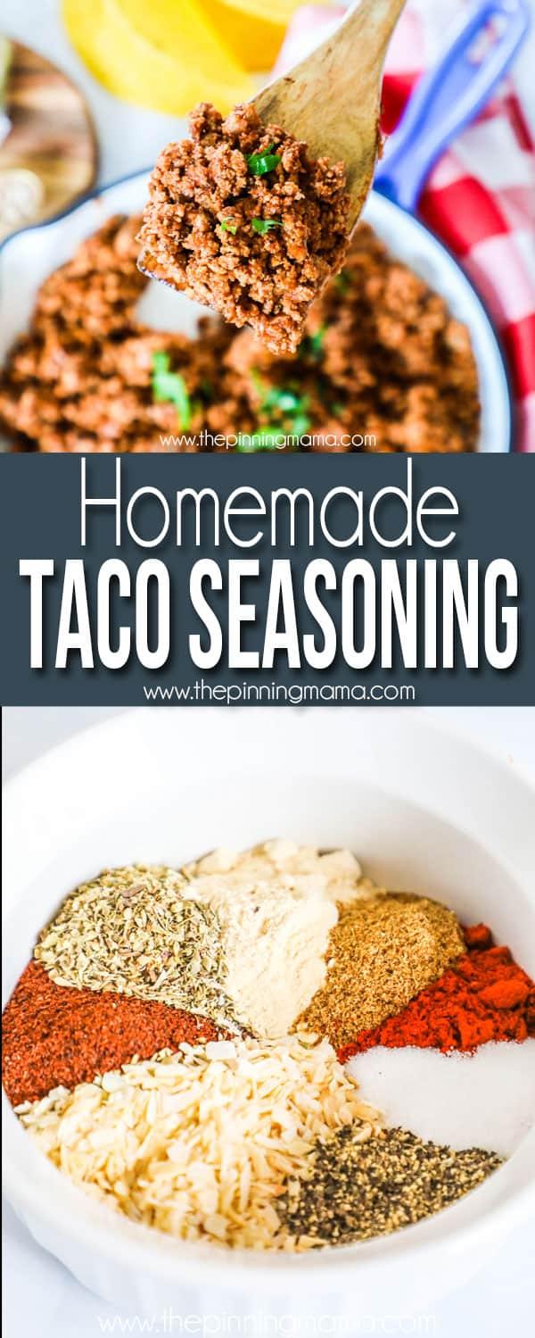 The Best Whole30 Homemade Taco Seasoning .