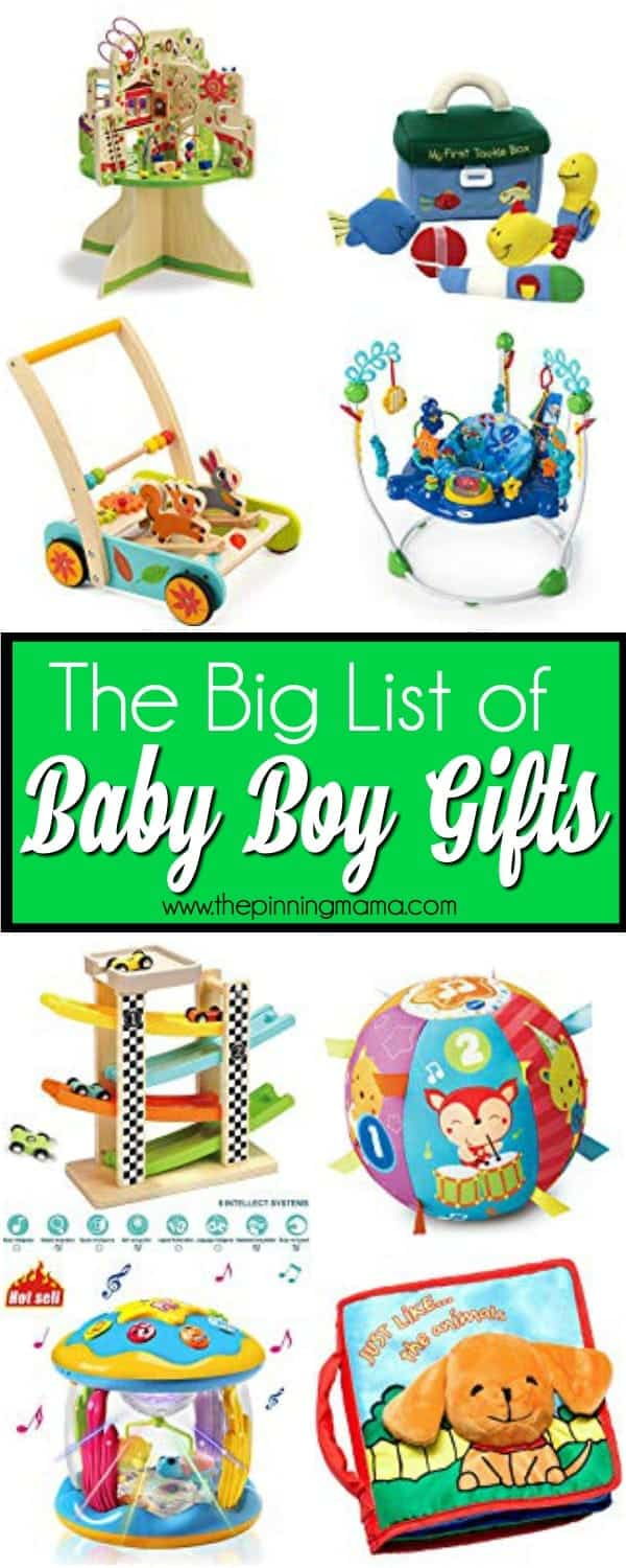 The Ultimate of Gift Ideas for Baby Boys.