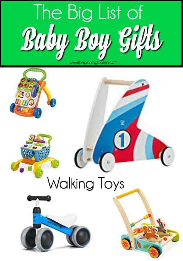 Big List of Walking toys for Baby boys.