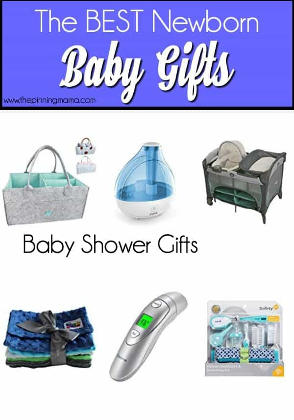 The Big List of Gift Ideas for Baby Showers.