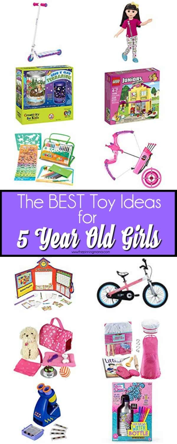 TheBig list of the BEST Toy Ideas for 5 year old girls.