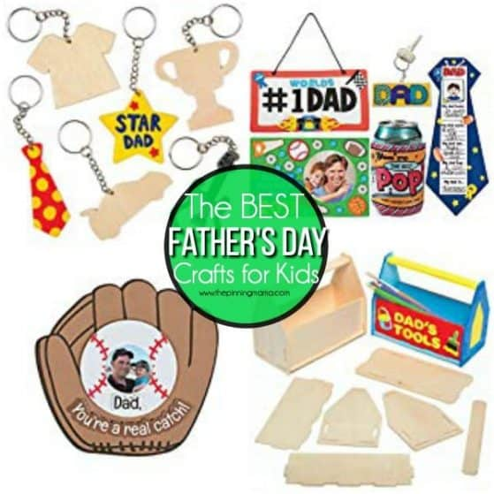 The BEST Father's Day Crafts for Kids.