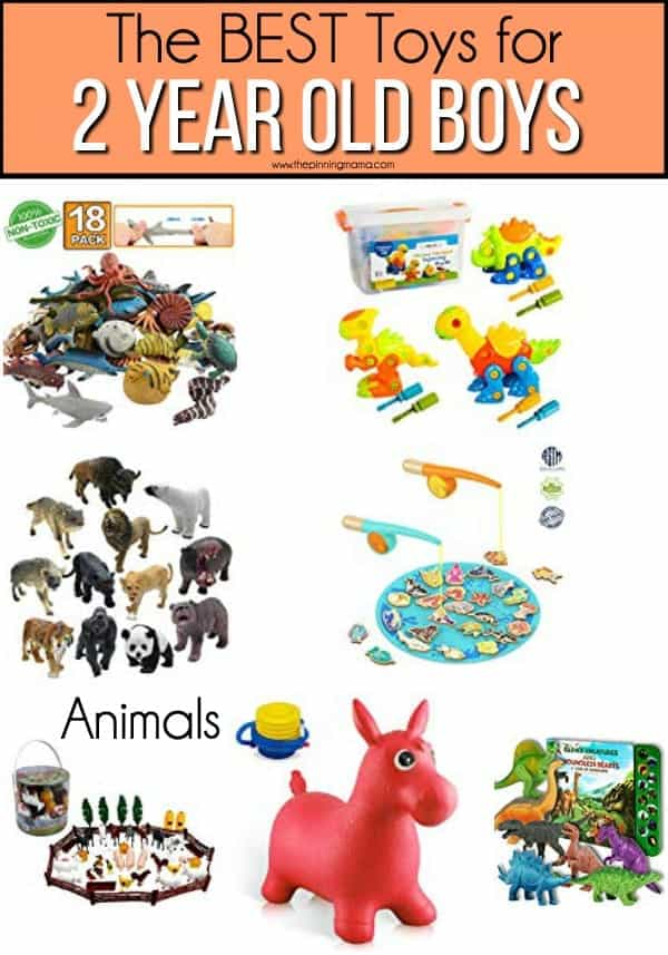The BEST Animal toy ideas for 2 year old boys.