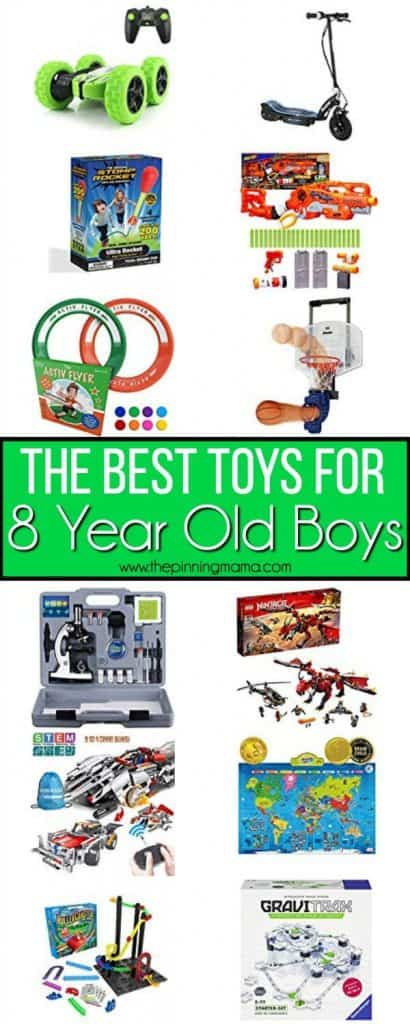 The BEST toys for 8 year old boys.