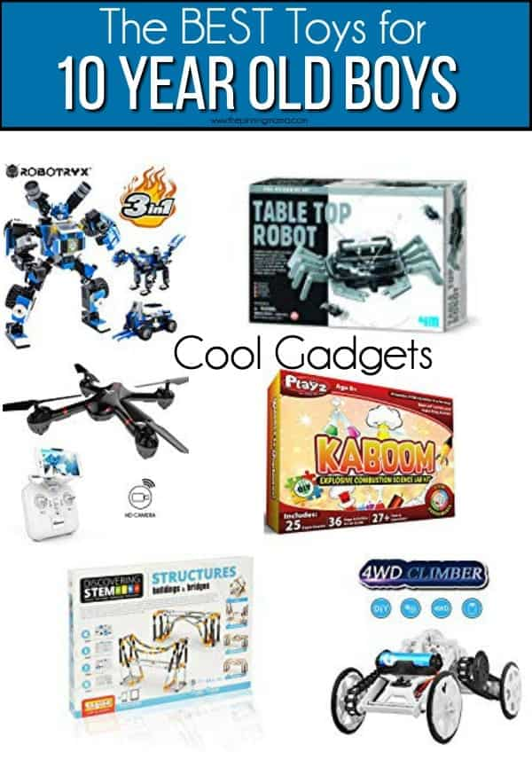 The BEST cool gadget toy ideas for 10 year old boys.