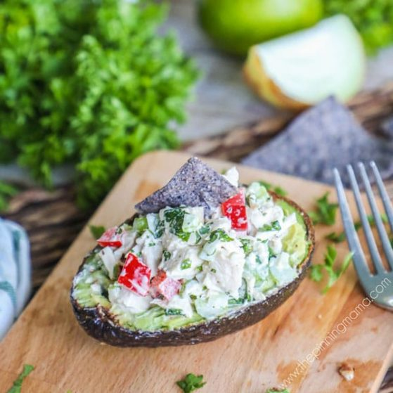 Recipe for Cilantro Lime Chicken Salad.