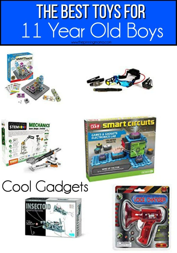The BEST Cool Gadget toy ideas for 11 year old boys.