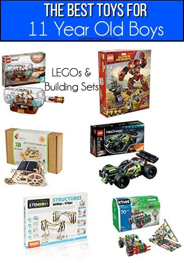 The BEST LEGO sets and building sets for 11 year old boys.