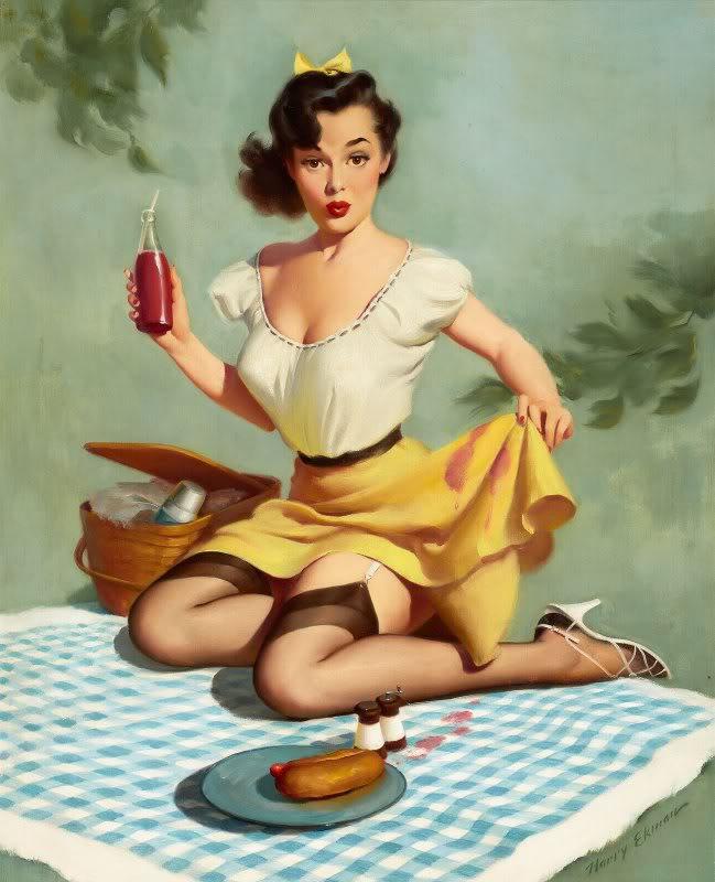 Harry Ekman pin-up girls | The Pin-up Files