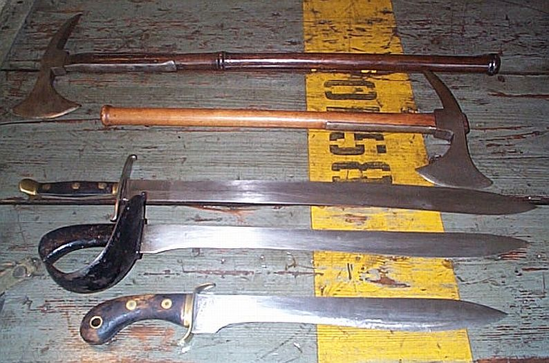 Authentic Pirate Weapons