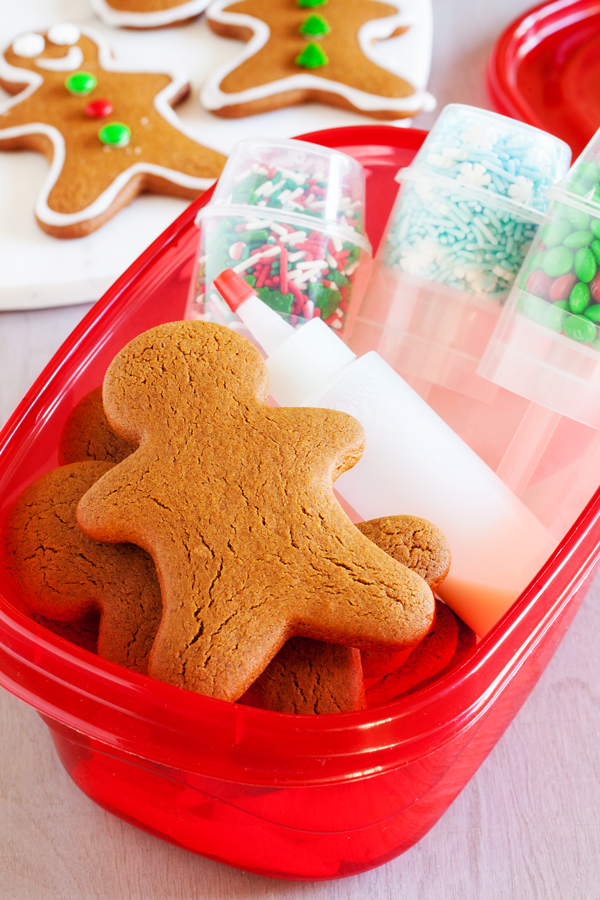 Gingerbread Men Cookie Decorating Kits   The PKP Way Gingerbread Men Cookie Decorating Kits make cute packages that anyone will  be thrilled to receive