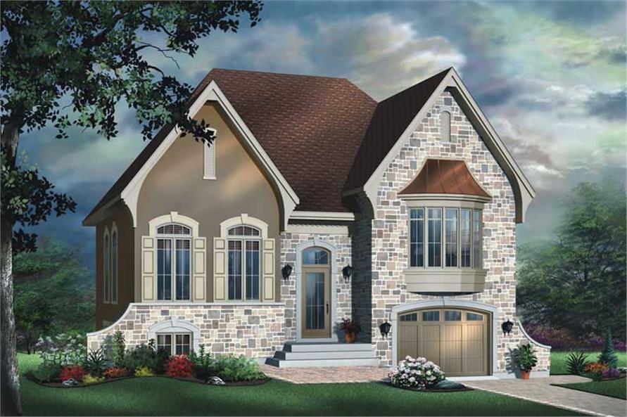 Small European House Plans Home Design Dd 3425 11416