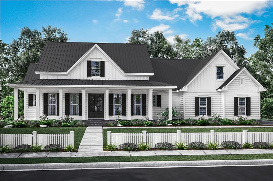 3 Bedrm  2282 Sq Ft Traditional House Plan  142 1180  142 1180      3 Bedroom  2282 Sq Ft Traditional Home Plan   142 1180   Main