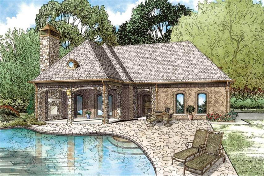 76 Pool Guest House Floor Plans   luxury floor plans with indoor         floor plans House plan 153 2028 1 bdrm 1 117 sq ft cottage home for  Pool guest house