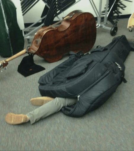 The Benefit Of Playing Double Bass On An Orchestra Tour