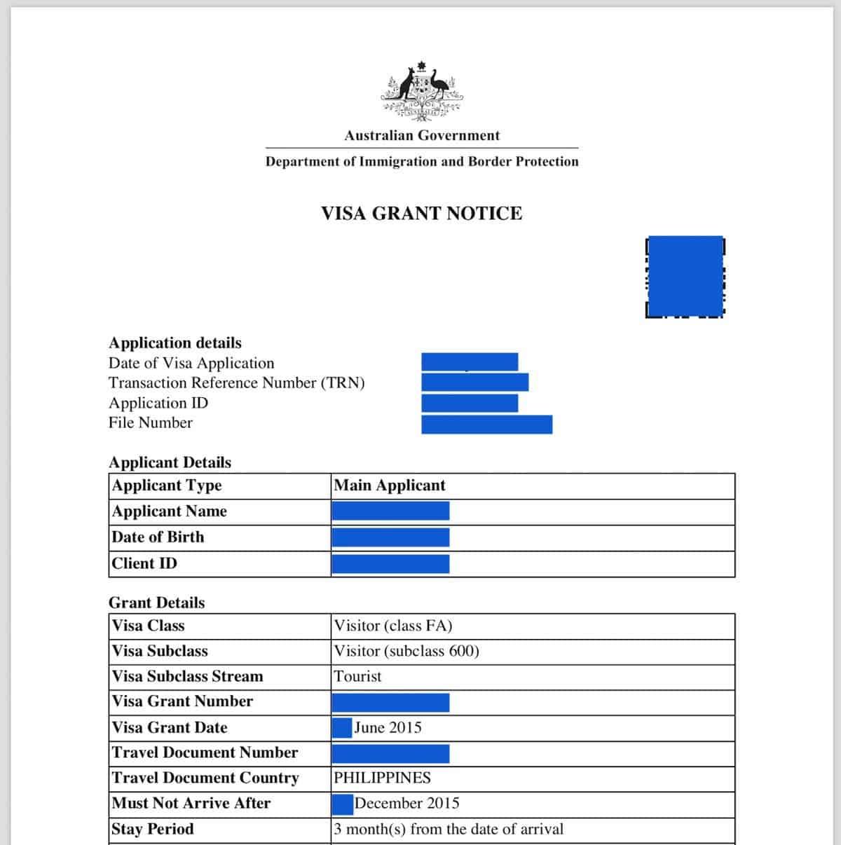 Australian Visa Requirements Online Application 2018 The Poor