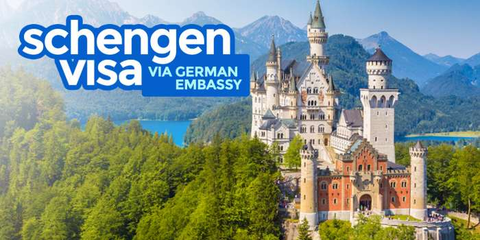 SCHENGEN VISA via GERMAN EMBASSY: Requirements & How to Apply 2018