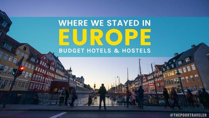 WHERE TO STAY IN EUROPE: Budget Hotel and Hostel Reviews