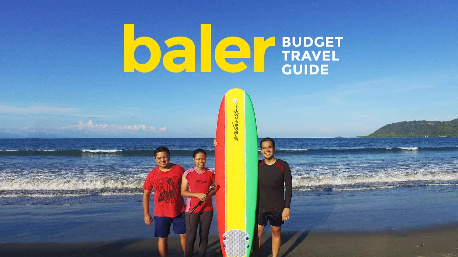 BALER ON A BUDGET: Travel Guide & Itinerary