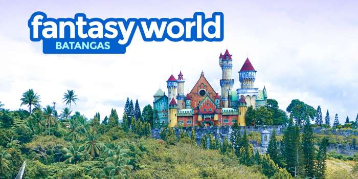 FANTASY WORLD: Abandoned Theme Park in Batangas Travel Guide 2018