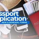 Philippine PASSPORT APPLICATION FORMS: New & Renewal