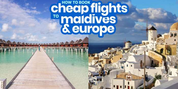 How to Book CHEAP FLIGHTS to EUROPE, MALDIVES and More with Scoot!