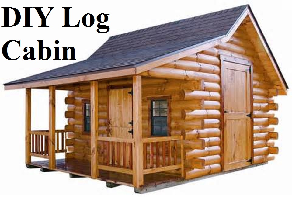 Building Small Log Cabin Scratch