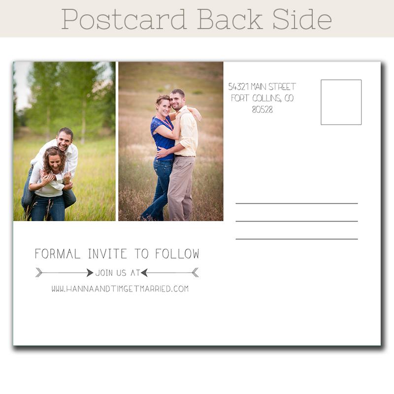 Print Save Date Postcards