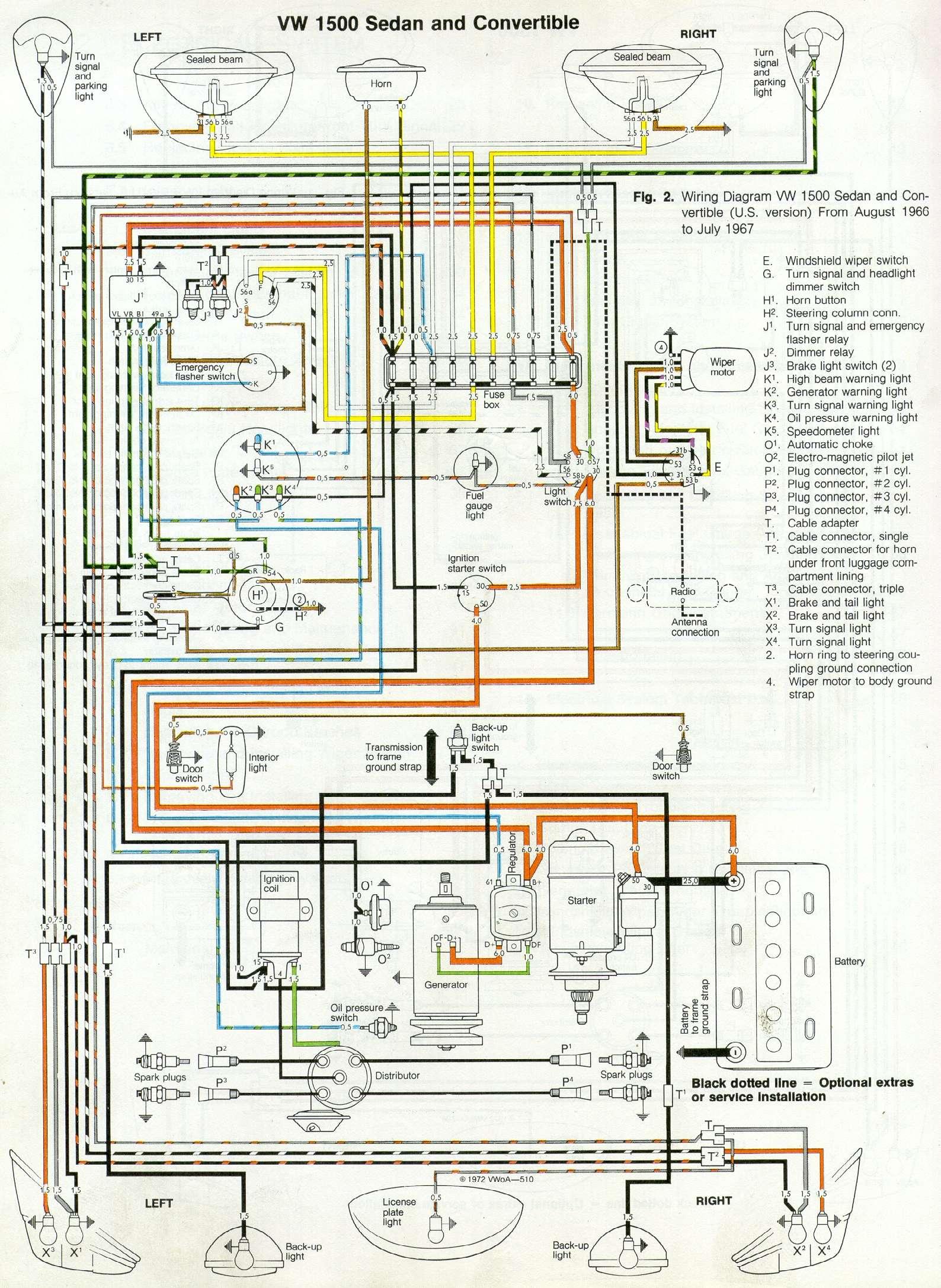 1958 Vw Bus Wiring Diagram Detailed Schematics 1972 Beetle Headlight Schematic Diagrams Harness