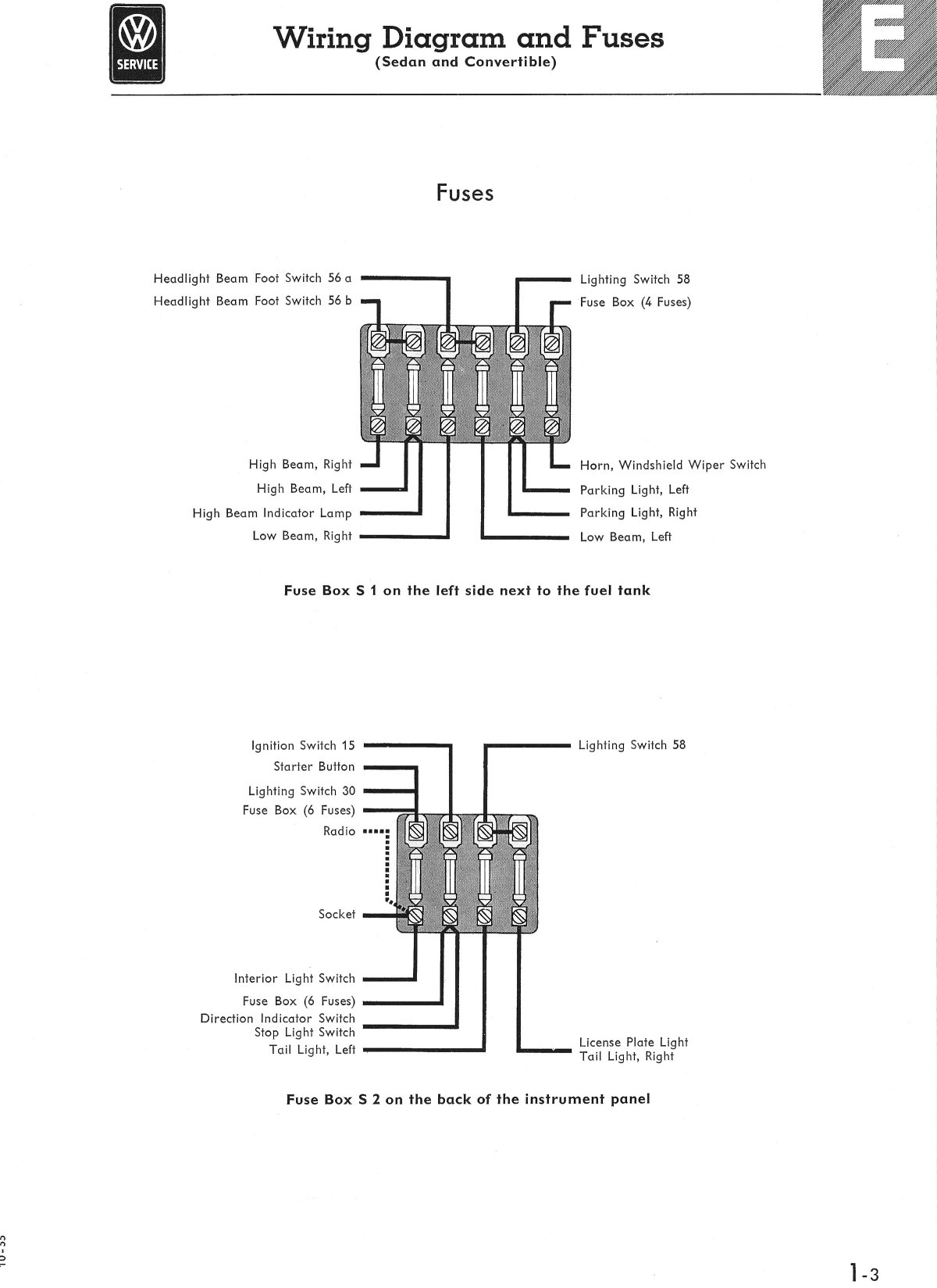 [DIAGRAM_38IU]  B7242A1 1965 Vw Fuse Box Diagram | Wiring Library | Fuse Block Wiring Diagram For Switched |  | Wiring Library