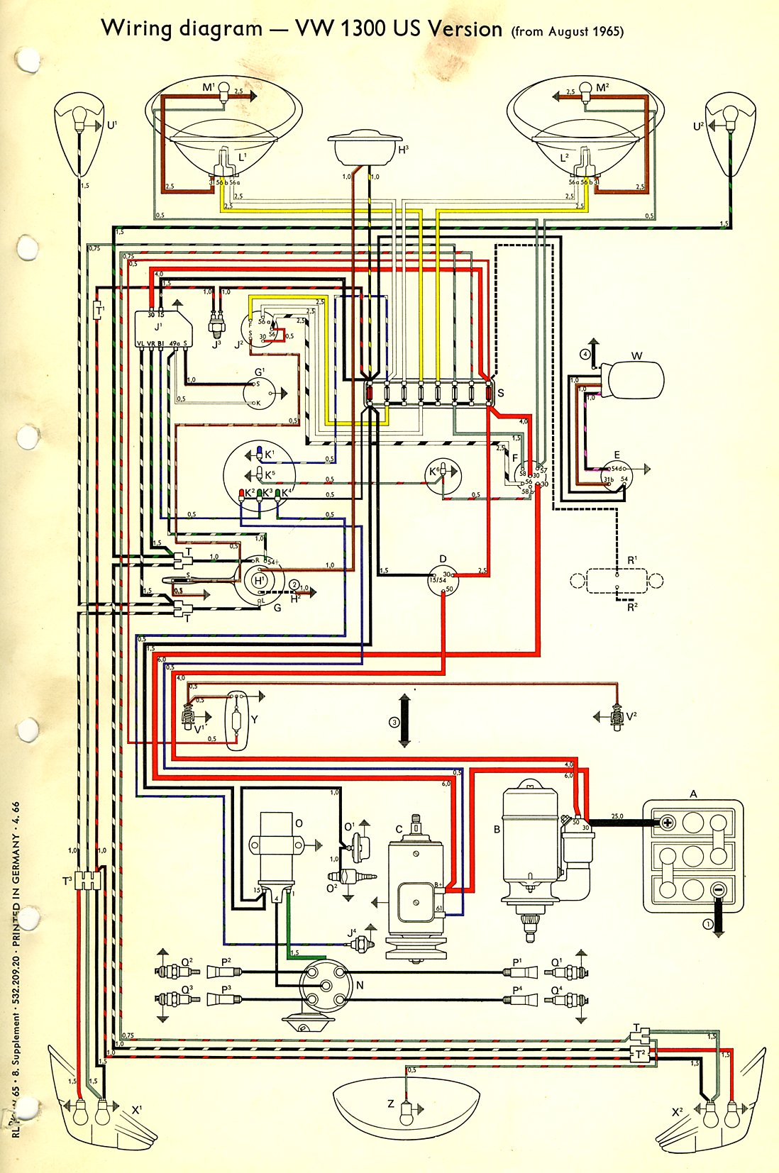 65 Vw Bug Wiring Harness Library Installation