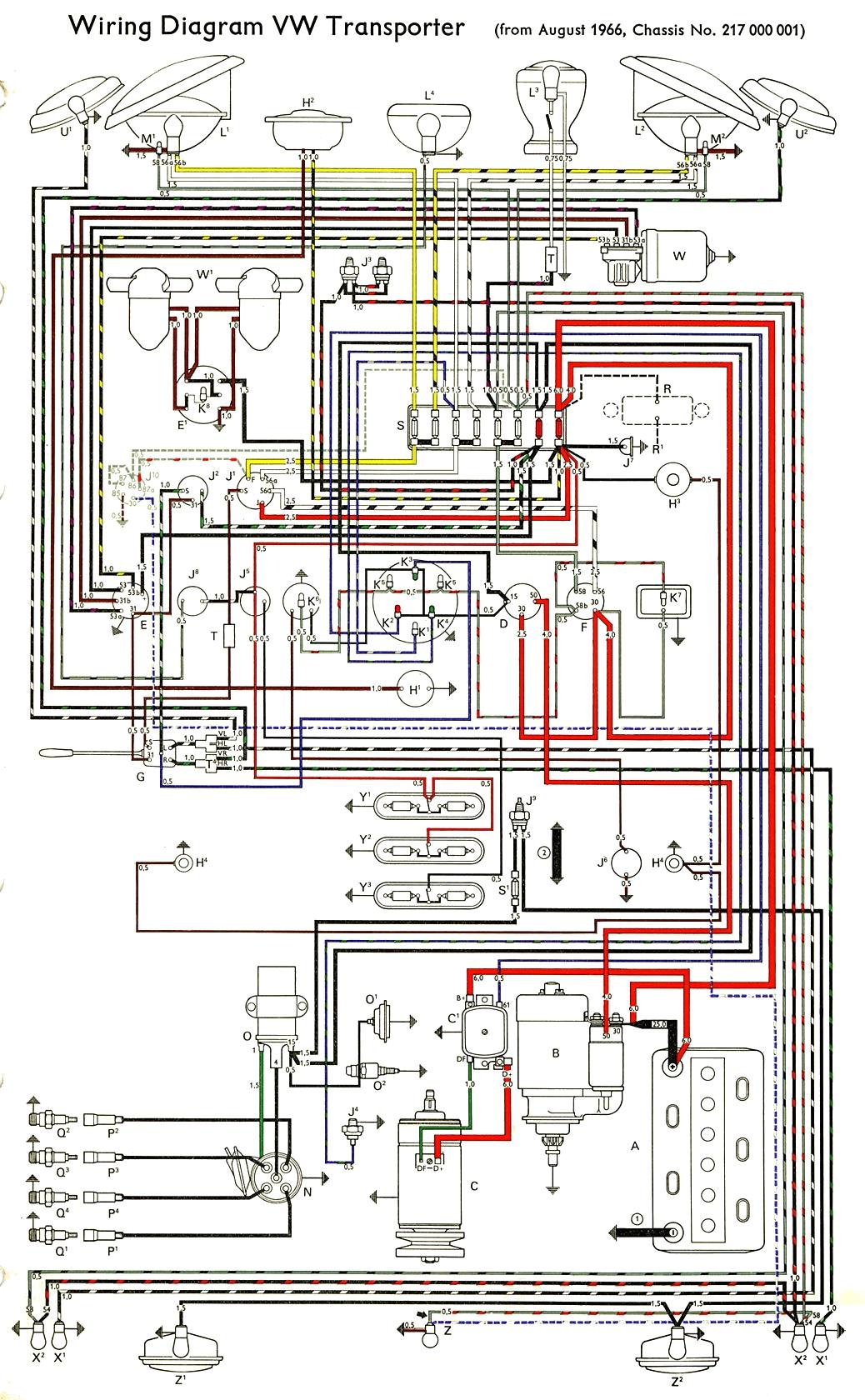 1973 Vw Super Beetle Fuse Box Diagrams 1966 Diagram