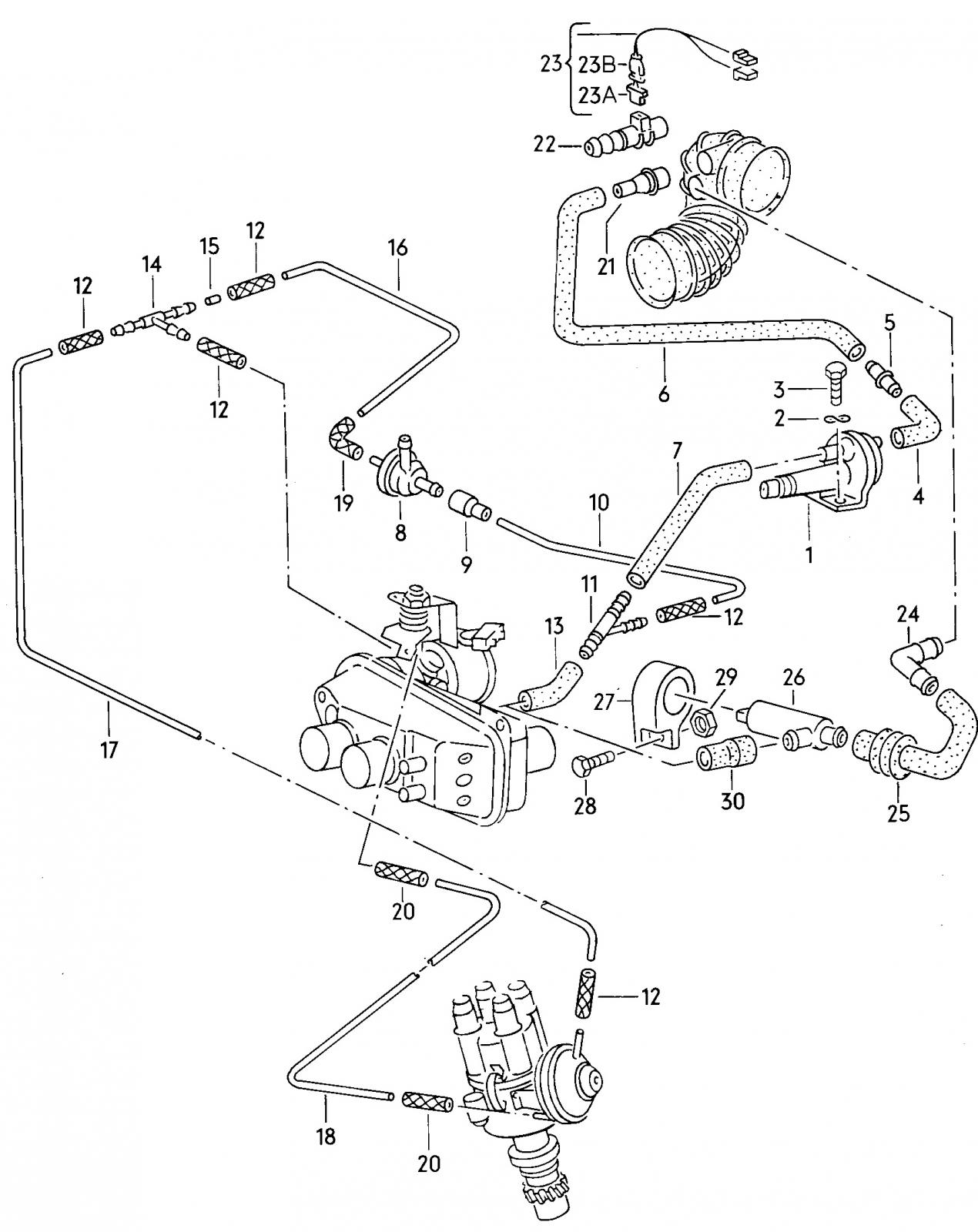 View topic 1 9l 1985 air intake image may have been reduced in size click image to view fullscreen vanagon engine schematics 2 1 vanagon engine diagram