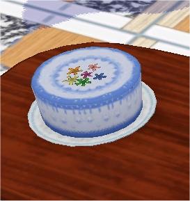 Navek S Cake Birthday Blue