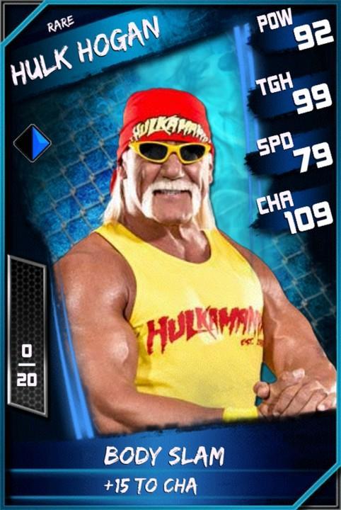 Hulk Hogan Wwe Supercard Season 1 Debut Wwe