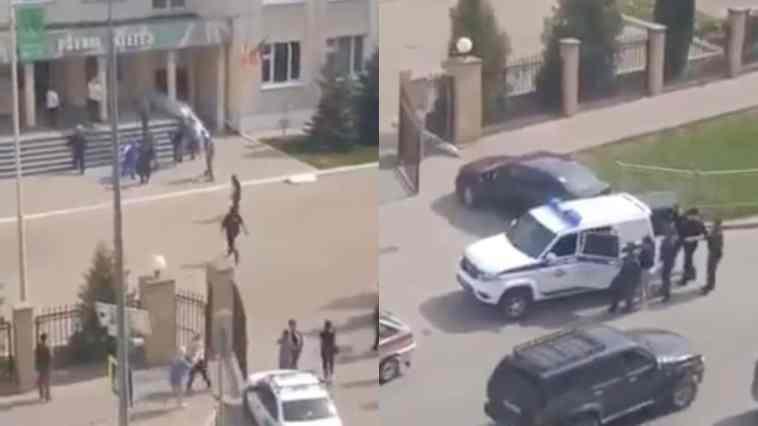 Sparatoria in una scuola: uccisi diversi studenti e un insegnante. Un uomo ancora nell'edificio