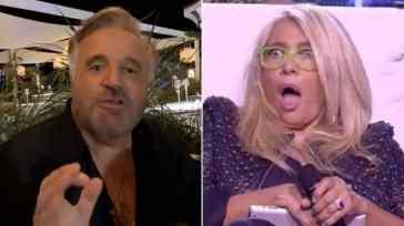 """Mara Venier a cena con Christian De Sica e Massimo Boldi, ma parte l'insulto: """"Putt****a"""". Il video"""