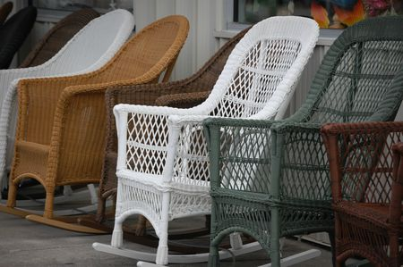 What Is Resin Wicker  All Weather Wicker Furniture wicker rocking chairs