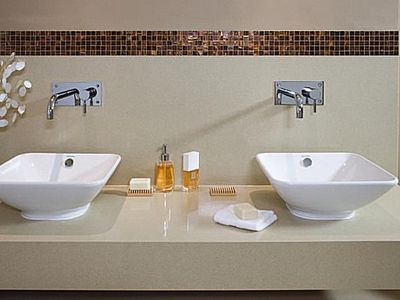 How to Make a Small Bathroom Look Bigger 7 Ways to Get the Look of Granite for Less      Bathroom Design Tips