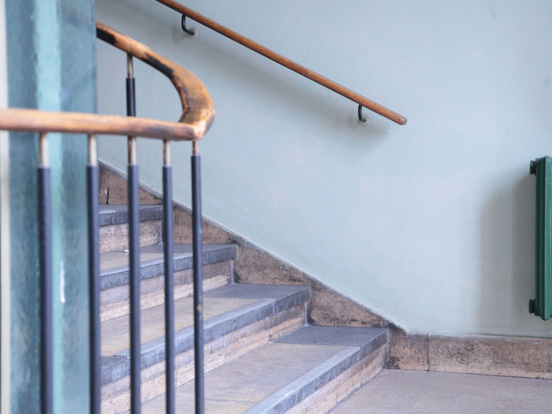 Stair Railing Building Code Summarized | Commercial Handrails For Outdoor Steps | Simplified Building | Stair Treads | Porch | Front Porch | Custom